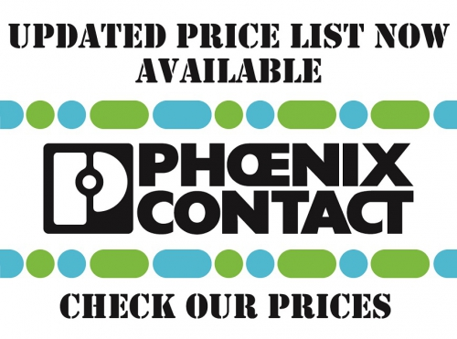 Phoenix Contact updated prices available, check our prices!